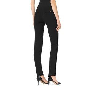 Michael Michael Kors Miranda Black Tuxedo Pants